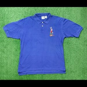 ACME Looney Tunes Bugs Bunny Golf Polo Shirt